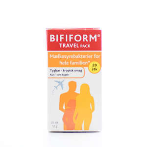 Bifiform Travel Pack