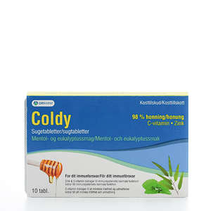 Coldy Honey Mentol-eukalyptus