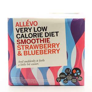 Allevo Smooth Straw+Blueberry