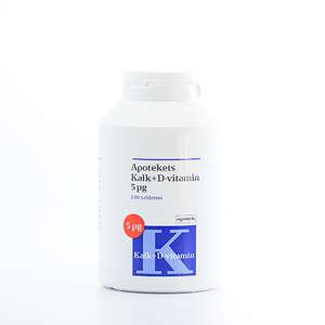 Apotekets Kalk og D-vitamin