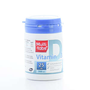 Multi-tabs D3-vitamin 25 mikg