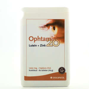 Ophtamin 20 Lutein+Zink