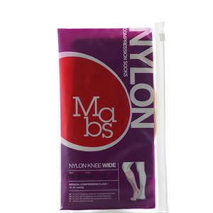 Mabs Nylon Knee Wide beige XL