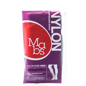 Mabs Nylon Knee Wide black XL