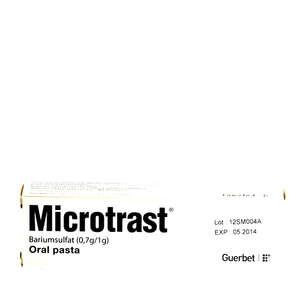 Microtrast oral pasta 70%