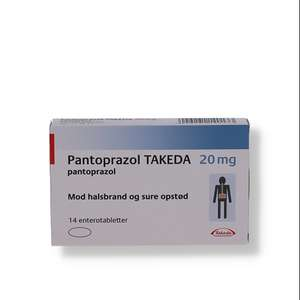 "Pantoprazol ""Takeda"" 20 mg"
