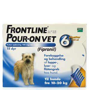 Frontline Pour-On Vet. 10-20kg