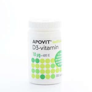 Apovit D-vitamin 10 mikg