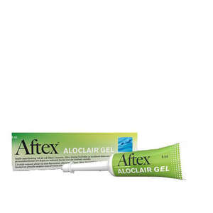Aftex aloclair gel