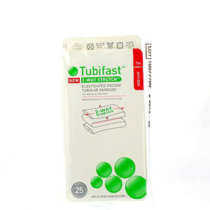 Tubifast 2-way stretch rød