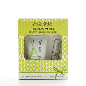 A-Derma Gift Pack Hand+lip