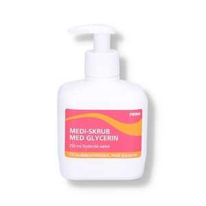 Medi-skrub + glycerin