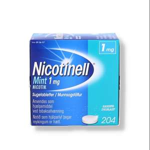 Nicotinell Mint 1 mg
