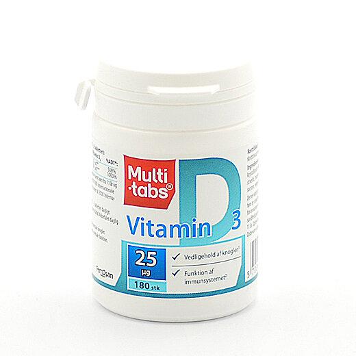 Multi-tabs D3-vitamin 25 uq