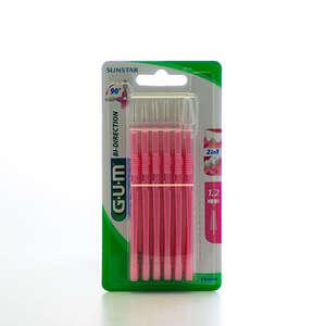 GUM Bi-direction 1,2 m.børste