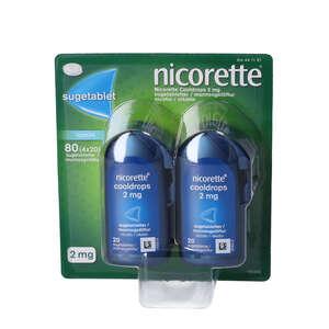 Nicorette Cooldrops 2 mg