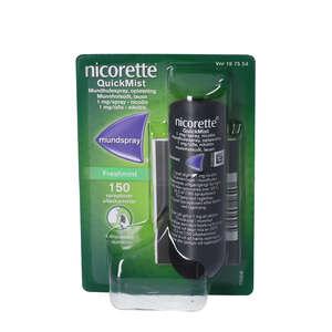 Nicorette QuickMist 1 mg/dosis