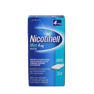 Nicotinell Mint 4 mg