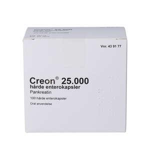Creon Lipase 25.000 EP-e