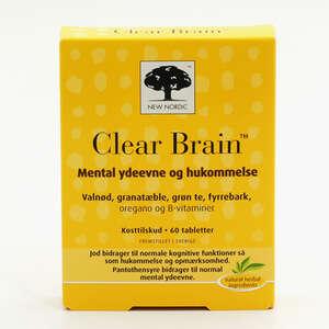 Clear Brain tabletter