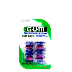 Gum Red Cote Plakkontrol