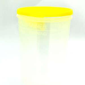 Kanylebeh.2,0 l klar/gul låg