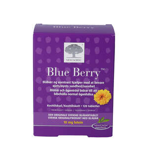 Blue Berry tabletter