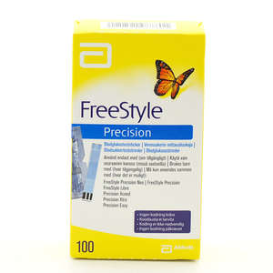 Precision Freestyle Teststrimler