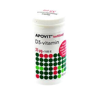 Apovit D3-vitamin 35 ug