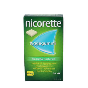 Nicorette Freshmint 4 mg