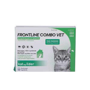 Frontline Combo Vet. Kat 6 stk