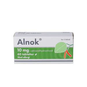 Alnok 10 mg 60 stk