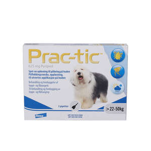 Prac-tic Spot-on opløsning (Hunde 22-50 kg)