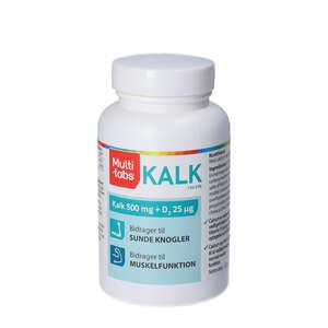 Multi-tabs Kalk + D vitamin Tabletter