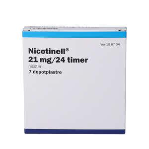 Nicotinell (PA) 21 mg/24 timer 7 stk