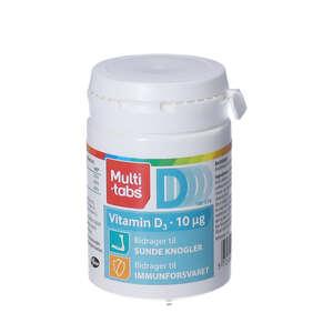 Multi-tabs D3-vitamin tabletter 180 stk (10 mikrog)