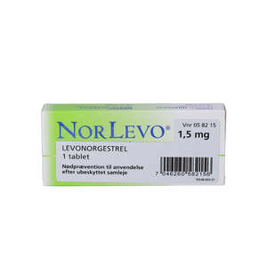 NorLevo (OR) 1,5 mg 1 stk