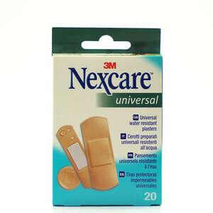 Nexcare Universal Plastre (3 str, 20 stk)
