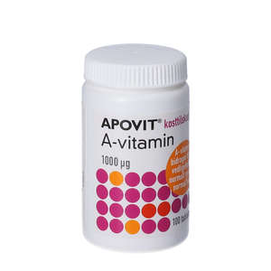 Apovit A-vitamin tabletter
