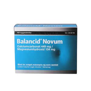 Balancid Novum 100 stk