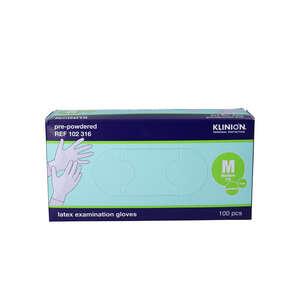 Klinion Protection Latex Handsker (M)