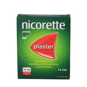 Nicorette invisi plaster 10mg 14 stk