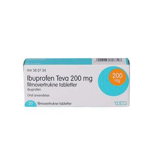 """Ibuprofen """"Teva"""" 200 mg"""