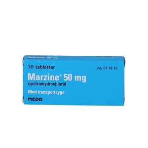 Marzine 50 mg