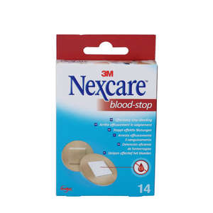 3M Nexcare Blood-Stop Plastre (rund Ø 22mm)