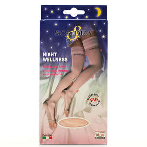 Solidea Night Wellness 70 Strømper (M/L- rosa)