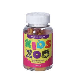 Kids Zoo Kalk + D-Vitamin Geléstykker