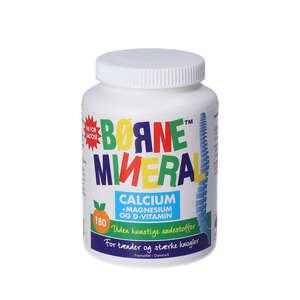 Børnemineral Calcium + Magnesium og D-vitamin (appelsin)