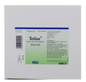 Toilax 50 stk kombipakker