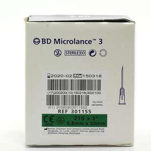 BD Microlance 3 (21G/50mm) Kanyler